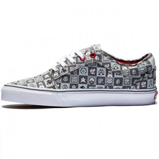 Vans X Nintendo Chukka Low Shoes - Nintendo Check/Grey/White - 8.0
