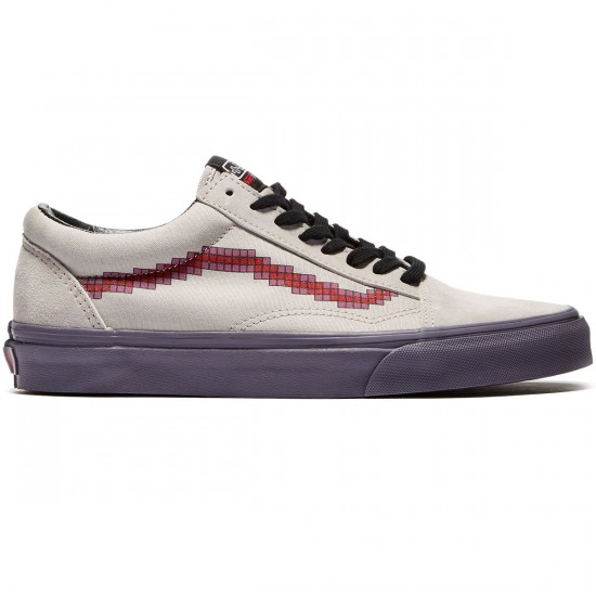 Vans X Nintendo Old Skool Shoes - Console Dove - 8.0