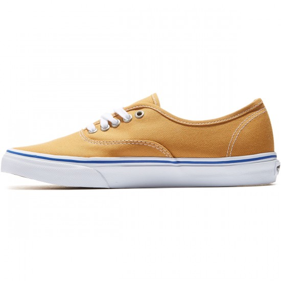 Vans Original Authentic Shoes - Amber Gold/True White - 9.0
