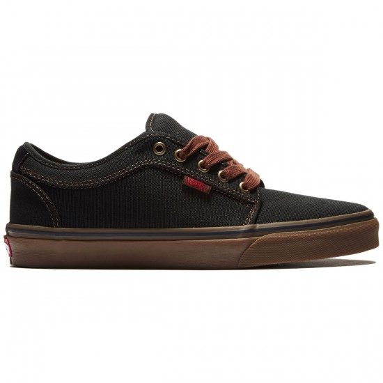 Vans Chukka Low Pro Shoes - Buffalo Plaid/Black/Gum - 8.0