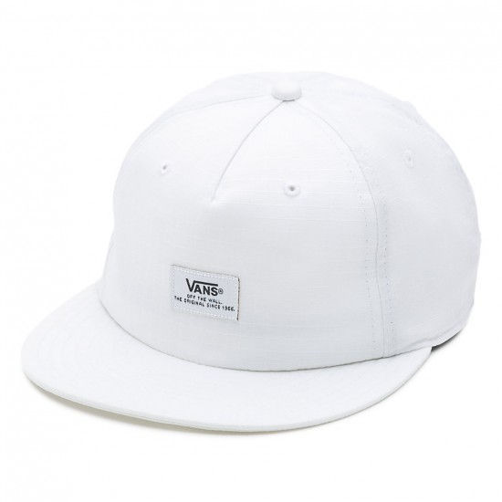 Vans Helms Unstructured Hat - White