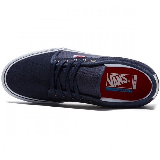 Vans Chukka Low Shoes - Parisian Night/White/Red - 8.0