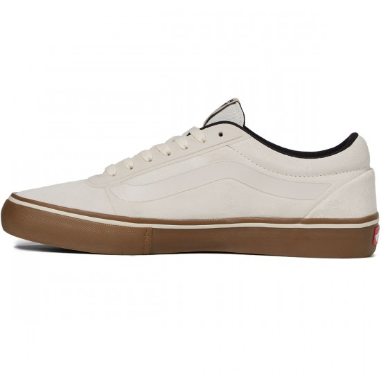 Vans AV RapidWeld Pro Shoes - White/Gum - 8.0