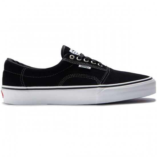 Vans Rowley Solos Shoes - Black/White/Pewter - 8.0