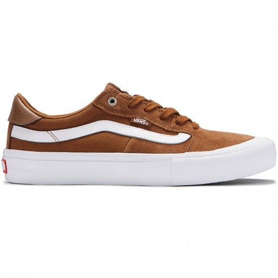 Vans Style 112 Pro Shoes - Tobacco/White - 8.0