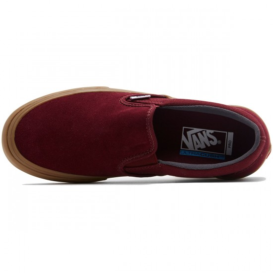 Vans Slip-On Pro Shoes - Port Royal/Gum - 8.5