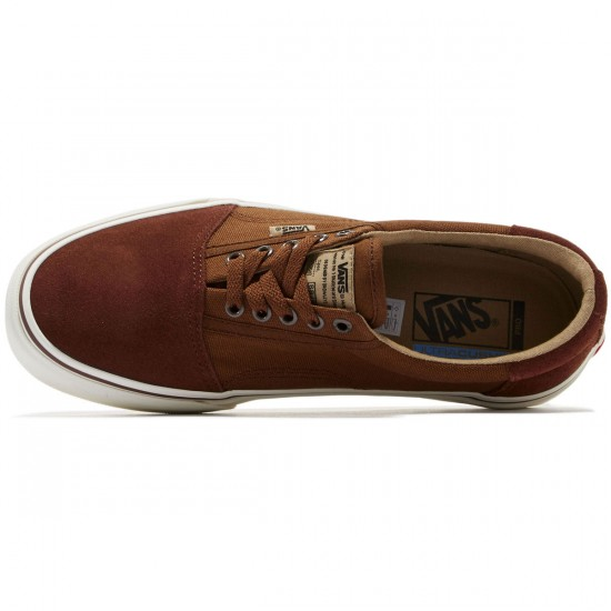 Vans Rowley Solos Shoes - Chestnut/Brown - 8.0