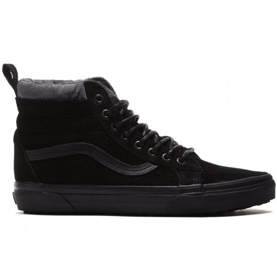 Vans Sk8-Hi MTE Shoes - Black/Black/Camo - 8.0