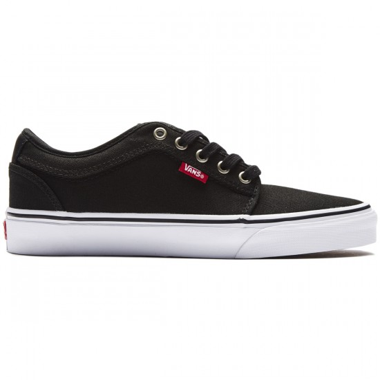 Vans Chukka Low Shoes - Black/Chili Pepper - 8.0