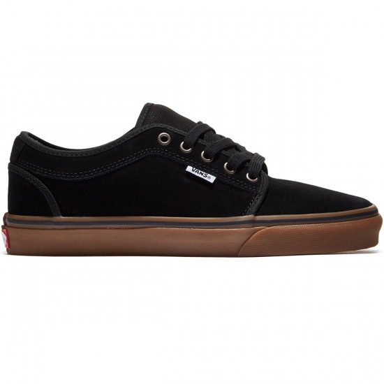 Vans Chukka Low Shoes - Black/Gum - 8.0