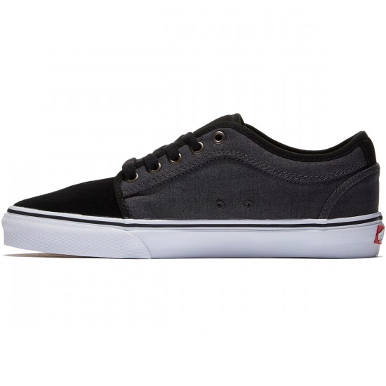 Vans Chukka Low Shoes - Black/Tornado - 8.0