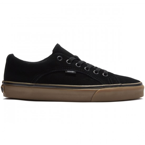 Vans Lampin Shoes - Black/Gum - 8.0
