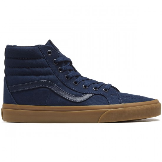 Vans SK8-Hi Reissue Shoes - Dress Blues/Light Gum - 8.0
