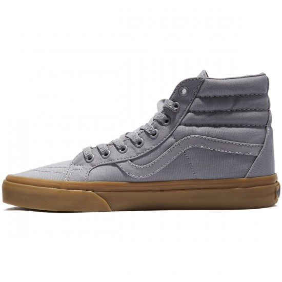 Vans SK8-Hi Reissue Shoes - Frost Grey/Light Gum - 8.0