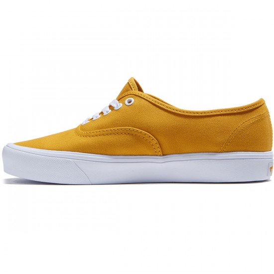 Vans Authentic Lite Shoes - Golden Yellow/True White - 8.0
