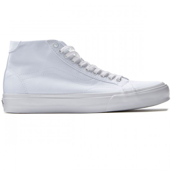 Vans Court Mid Shoes - True White - 8.0