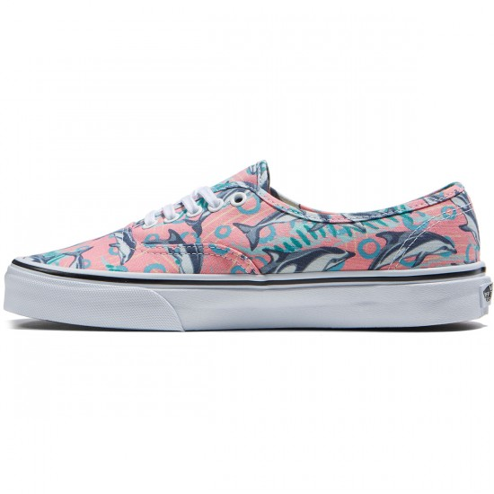 Vans Original Authentic Shoes - Dolphins/Desert Flower - 8.0