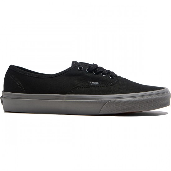 Vans Original Authentic Shoes - Black/Frost Grey - 6.0