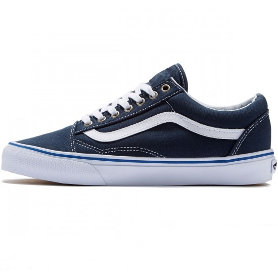 Vans Old Skool Shoes - Midnight/Navy/True White - 8.0