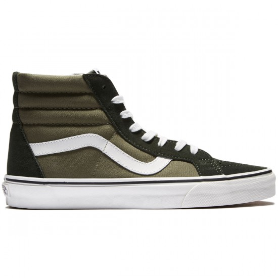Vans SK8-Hi Reissue Shoes - Duffle Bag/Burnt Orange - 8.0