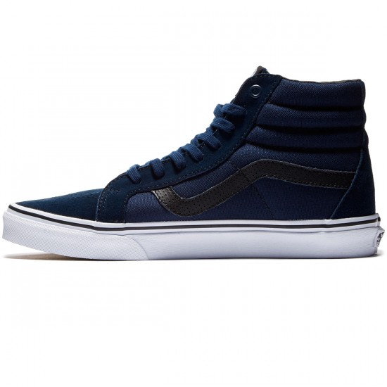 Vans SK8-Hi Reissue Shoes - Dress Blues/Black - 8.0