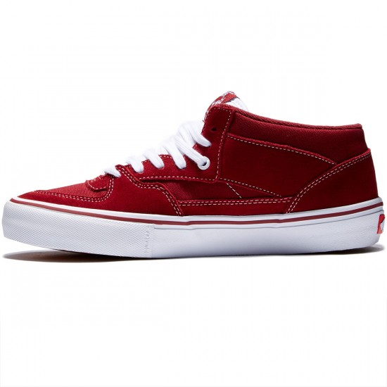 Vans Half Cab Pro Shoes - Biking Red - 8.0
