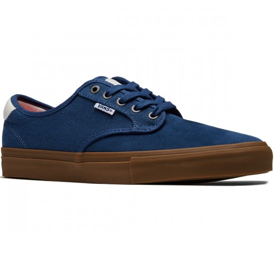 Vans Chima Ferguson Pro Shoes - Covert Twill Blue/Gum - 8.5