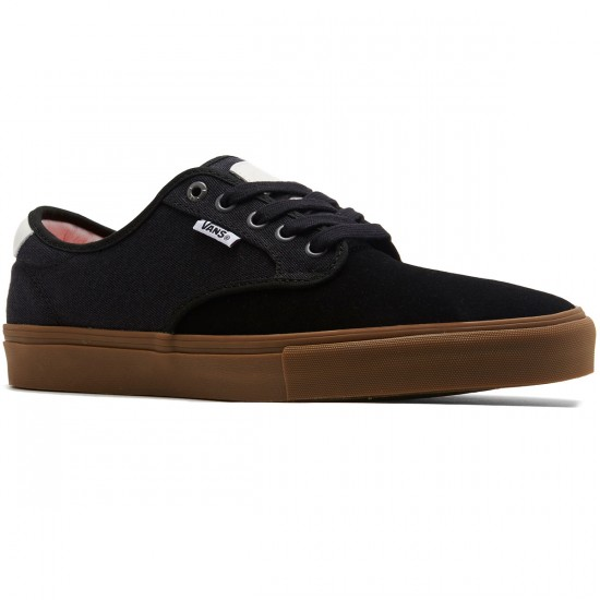 Vans Chima Ferguson Pro Shoes - Covert Twill Black/Gum - 8.0