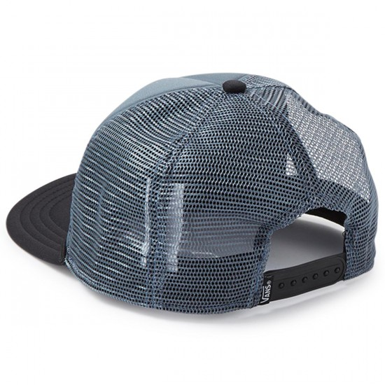 Vans Classic Patch Trucker Hat - Blue Mirage-Black