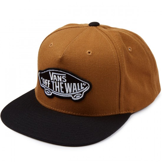 Vans Classic Patch Snapback Hat - Rubber/Black