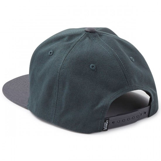 Vans Full Patch Snapback Hat - Green Gables/Charcoal