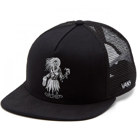 Vans Sketchy Trucker Hat - Black