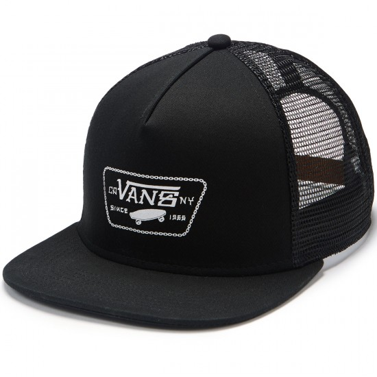 Vans Chain Patch Trucker Hat - Black