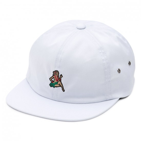 Vans Just Waving Jockey Hat - White