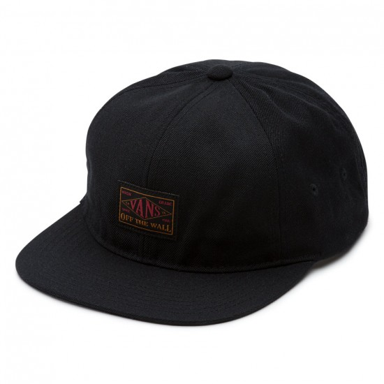 Vans Gilbert Jockey Hat - Black
