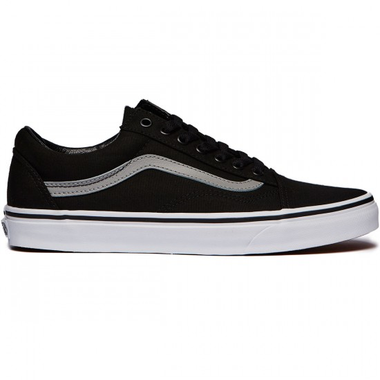 Vans Old Skool Shoes - Black/Wild Dove - 6.0