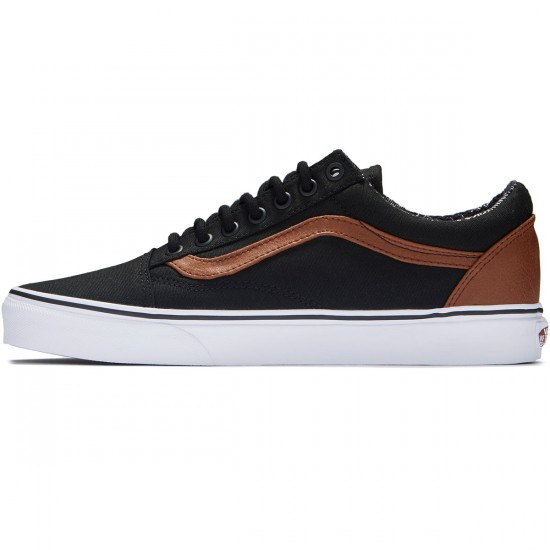 Vans Old Skool Shoes - Black/Material Mix - 8.0