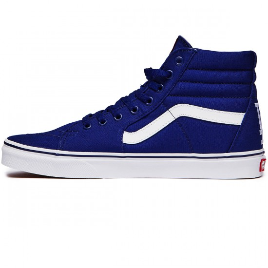 Vans Sk8-Hi Shoes - Los Angeles/Dodgers/Blue - 8.0