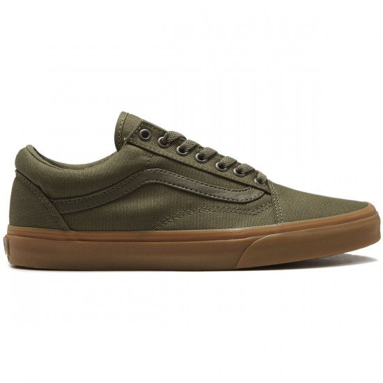 Vans Old Skool Shoes - Ivy Green/Light Gum - 8.0