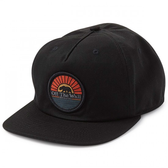 Vans Cali Bear Unstructured Hat - Black