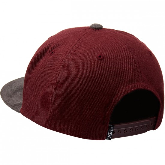 Vans Original Classic Snapback Hat - Port Royale/Charcoal