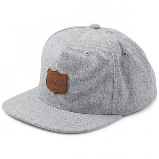Vans Geoff Rowley Snapback Hat - Heather Grey