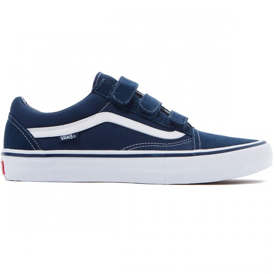 Vans Old Skool Priz Pro Shoes - Navy/White - 6.5