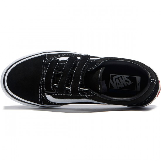 Vans Old Skool Priz Pro Shoes - Black/White - 6.5