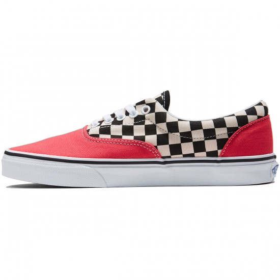 Vans Era Shoes - 2 Tone Rouge Red/True White - 8.0