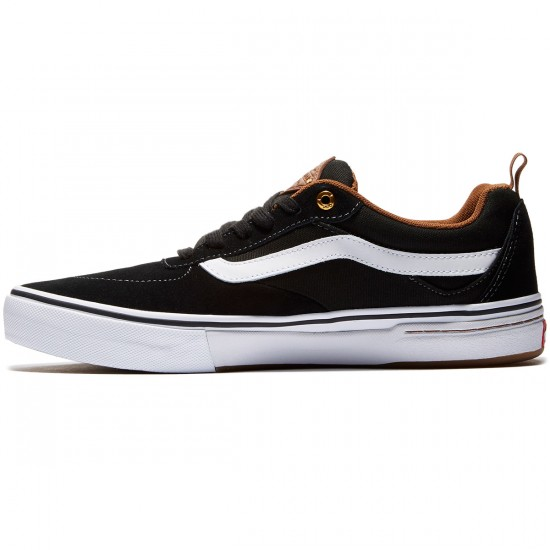 Vans Kyle Walker Pro Shoes - Black/White/Gum - 8.0