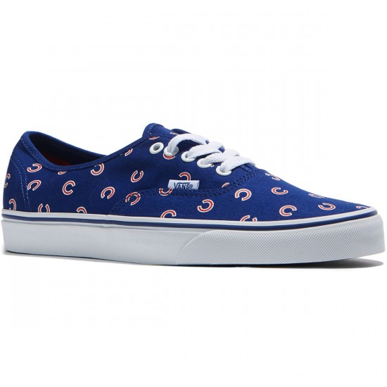 Vans Authentic MLB Shoes - Chicago/Cubs/Blue - 8.0
