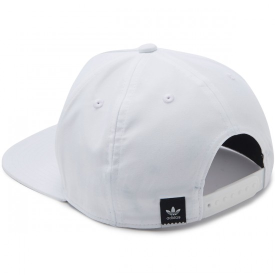 Adidas Courtside Snapback Hat - White/Multi