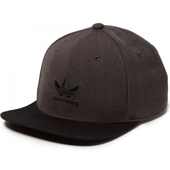 Adidas 6P Basics Hat - Dark Grey Heather