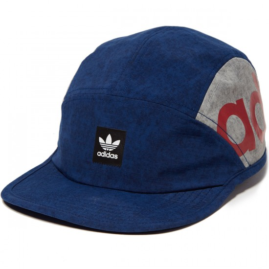 Adidas Nautical 5 Panel Hat - Mystery Blue